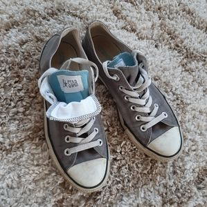 Converse All Star Gray Double Tongue Shoes